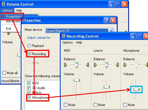 How to remove microphone howling robot echo sound for How to reduce noise from windows